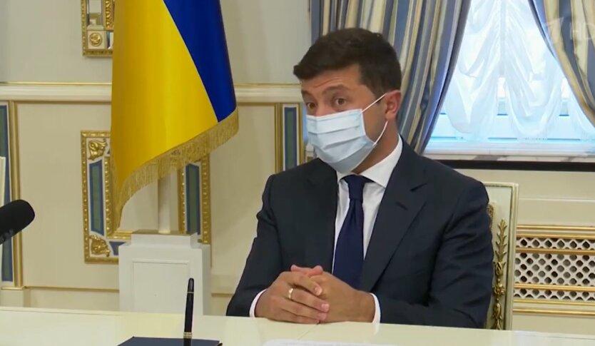 Владимир Зеленский, карантин, штраф