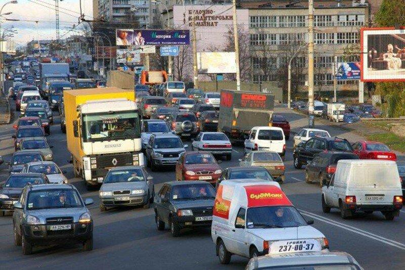 Дороги в Киеве
