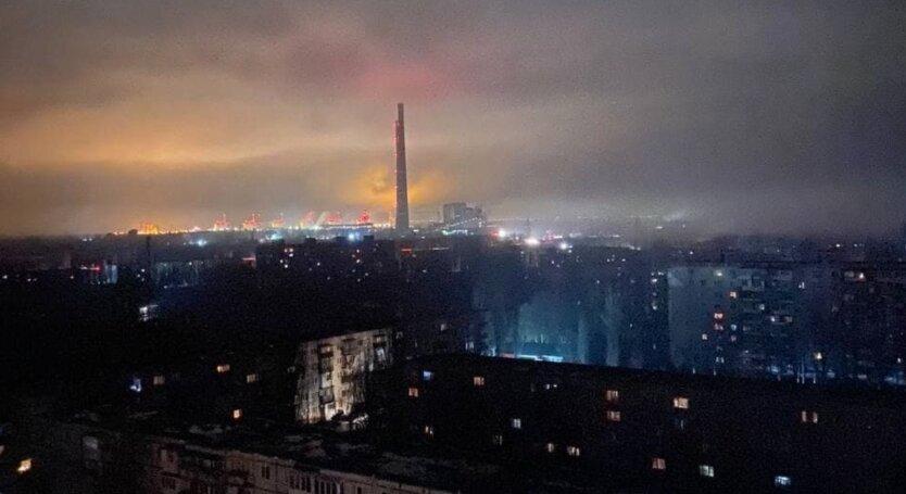 На Запорожской ТЭС аварийно отключились все энергоблоки