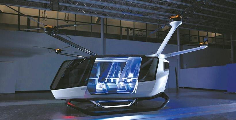 Летающее такси Skai