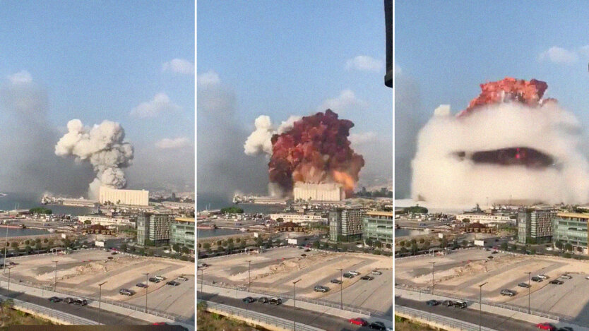 Мощнейший взрыв в Бейруте: Красный крест назвал количество пострадавших