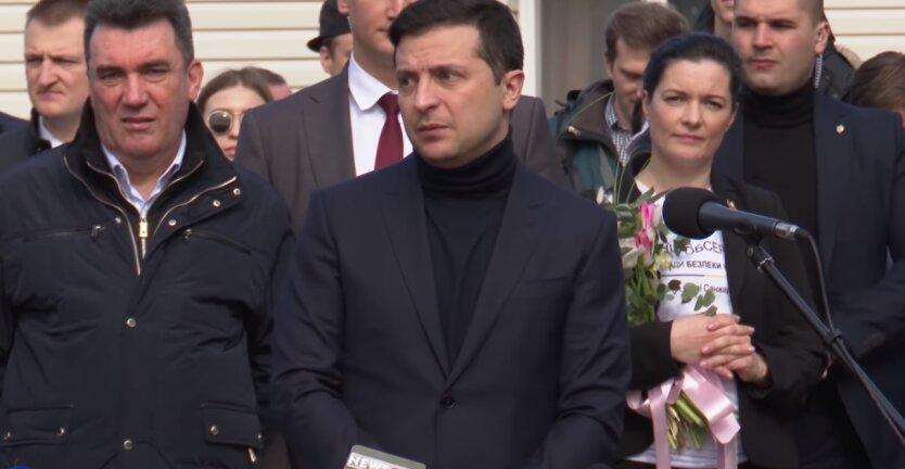 президент Украины, Владимир Зеленский