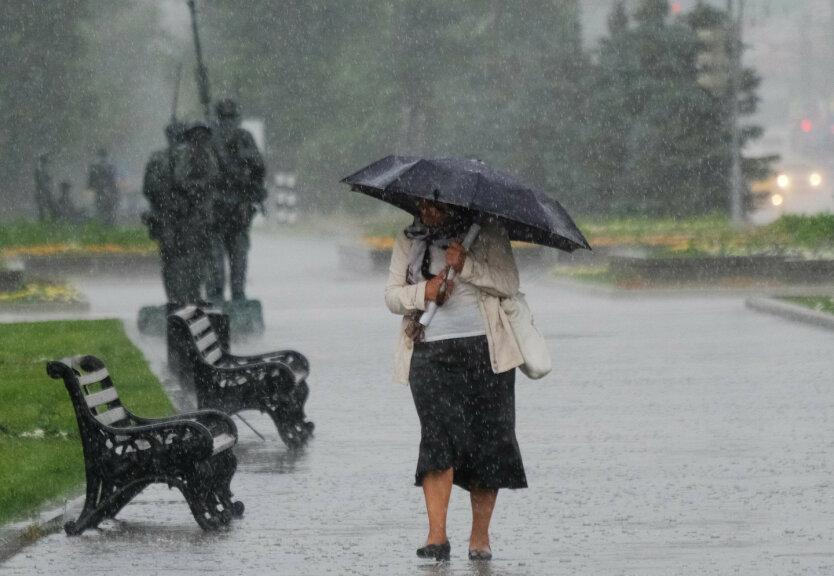 Штормовое предупреждение в Украине,ухудшение погоды,ливни и сильный ветер в Украине