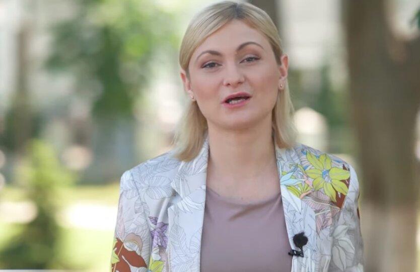 """Заместитель главы фракции """"Слуги народа"""" Евгения Кравчук"""