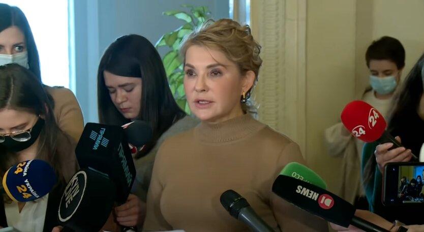 """Юлия Тимошенко, """"Батькивщина"""", """"Слуга народа"""""""