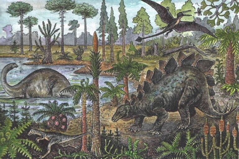 древние птицы_динозавры
