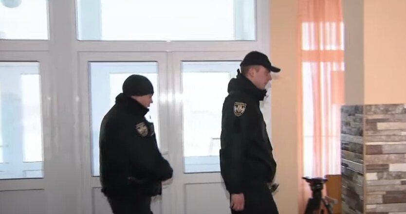Полицейские, полиция, Киев, местные выборы