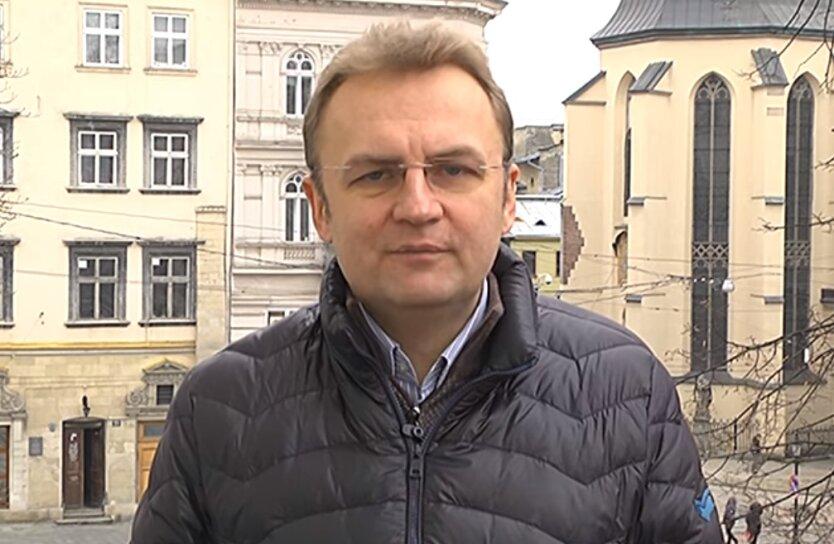 Мэр Львова Андрей Садовой