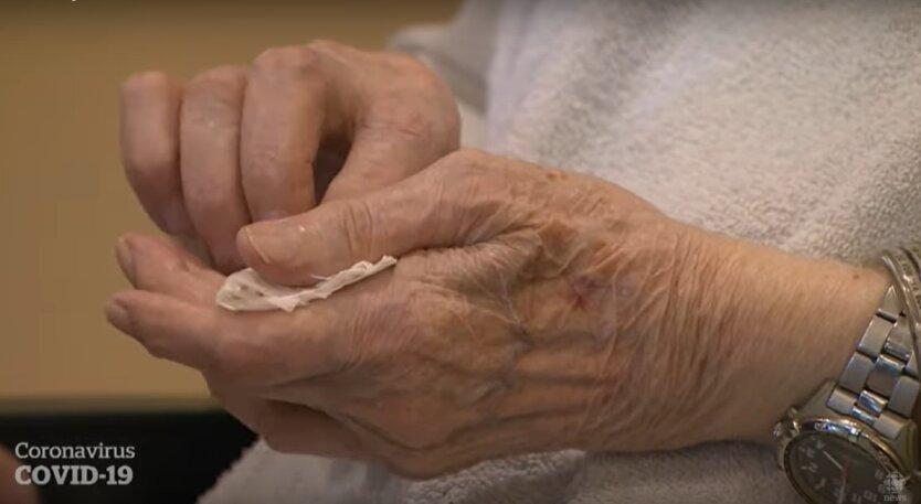 Старость, коронавирус у стариков