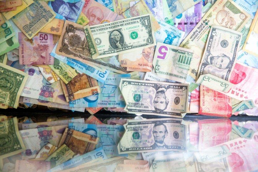 Доллар vs Евро, деньги, валюта