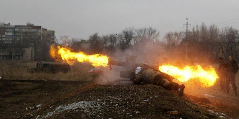 аробстрел зона АТО война на Донбассе