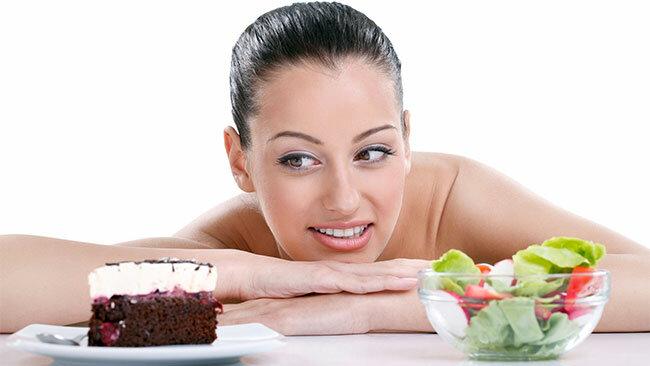тортик здоровое питание сладости девушка