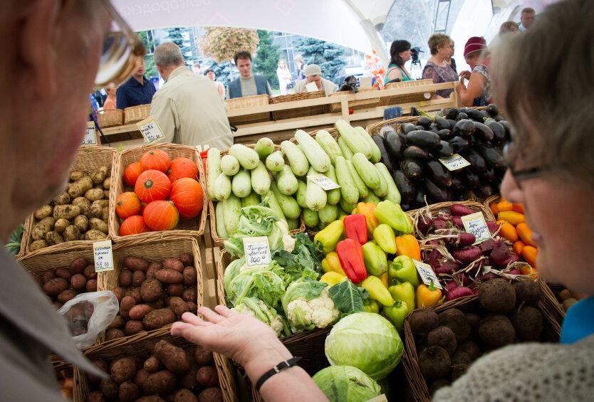 Цены на продукты в Украине, овощи в украине