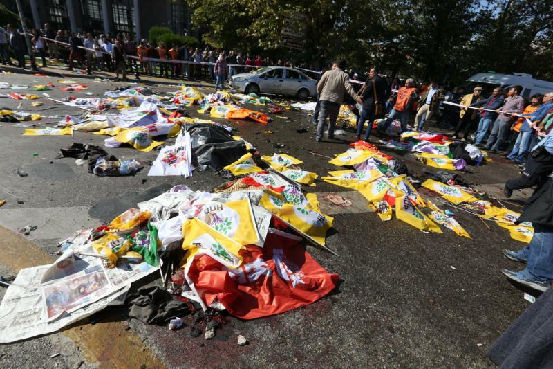 Теракты в Анкаре