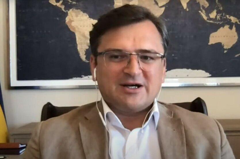 Кулеба нашел виновного в отсутствии прогресса по Донбассу
