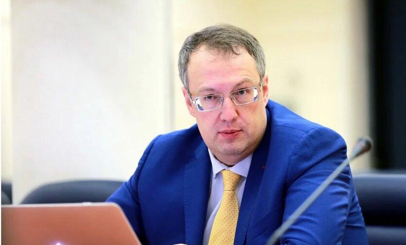 Антон Геращенко, МВД