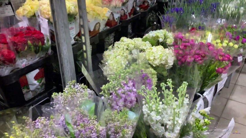 Цветы, 8 марта, цены