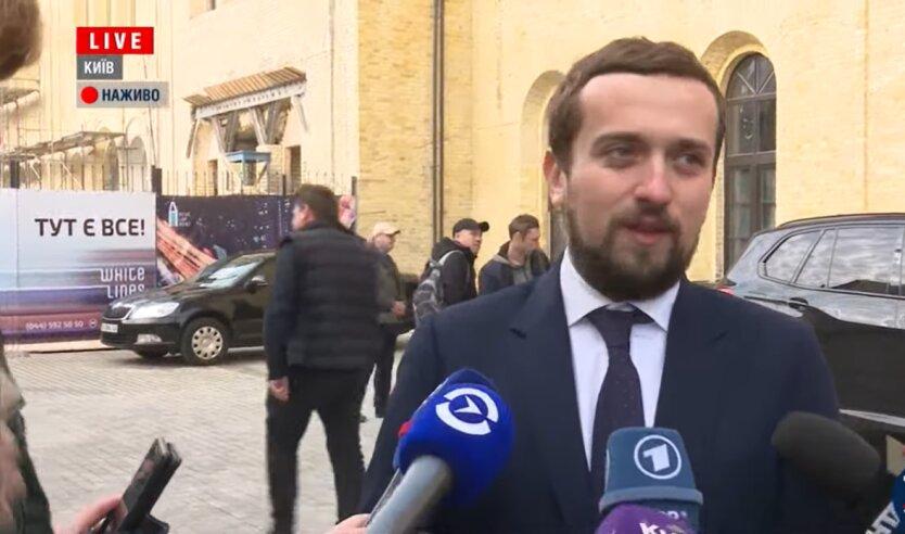 Заместитель руководителя Офиса президента Украины Кирилл Тимошенко, Мрия, груз из Китая