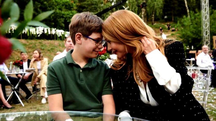 Кароль с сыном
