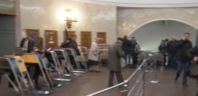 метро, Киев, карантин в Украине