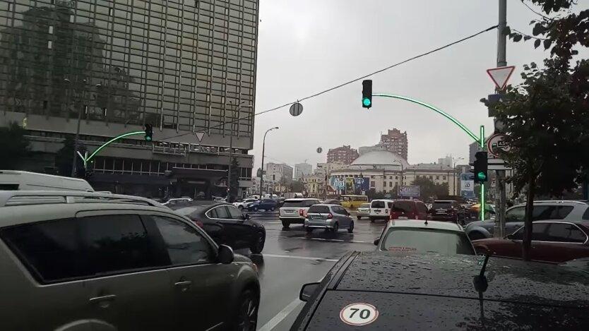 Светофоры в Киеве, светодиодные модуля, Департамент транспортной инфраструктуры