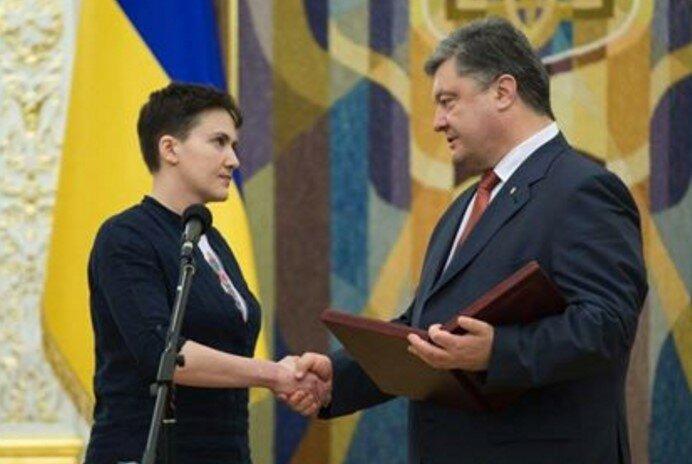 савченко порошенко
