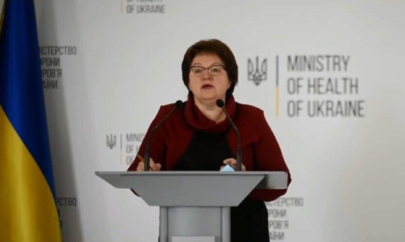 Заместитель министра здравоохранения Украины Ирина Микичак