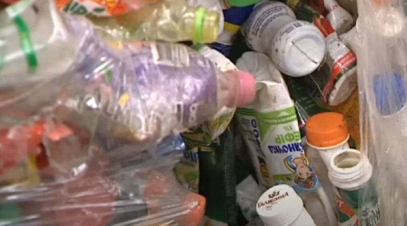 Пластик, отходы, Украина