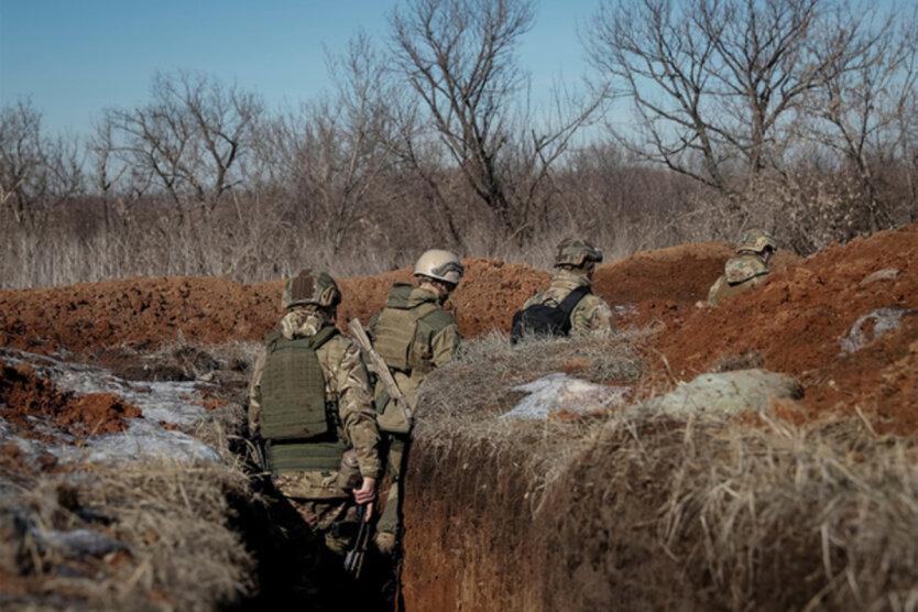 Российские боевики обстреляли украинские позиции под Богдановкой