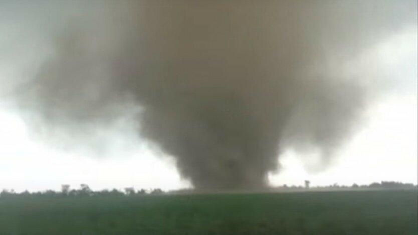 Мощный ураган накрыл Херсонщину