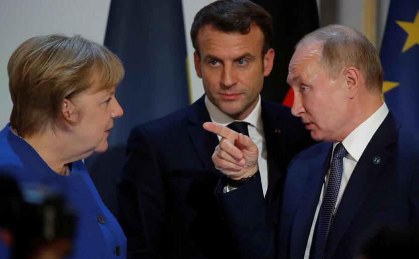 О чём реально договорились Меркель Путин и Макрон: тезисы и выводы