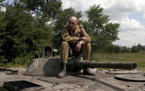 танк боевиков
