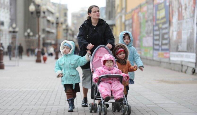 Многодетные семьи в Украине льготы