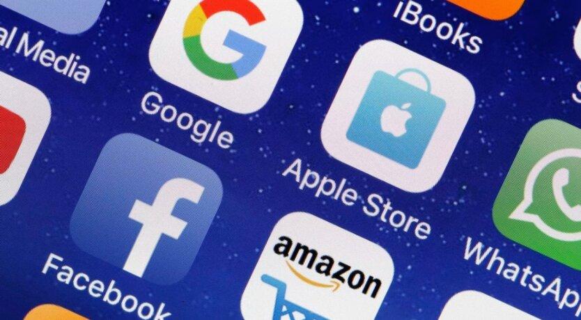 Google, Facebook и Apple