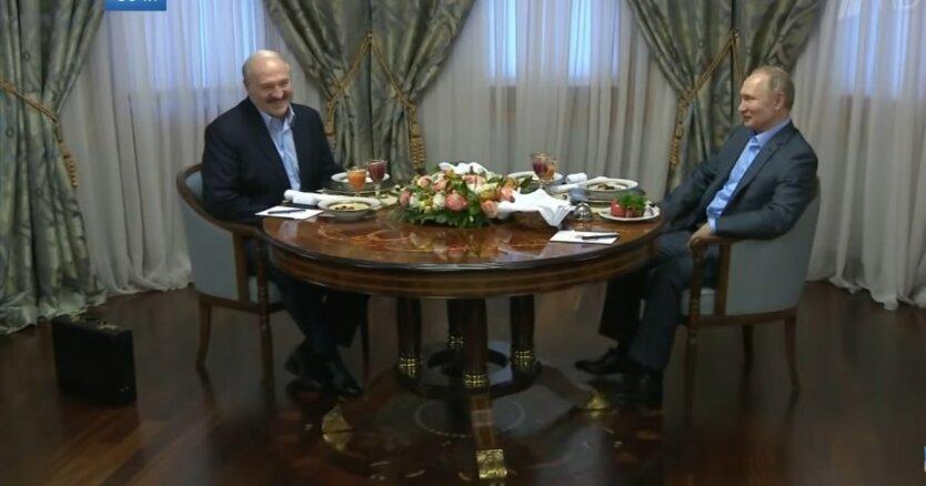 Александр Лукашенко и Владимир Путин, совместные действия, против Украины