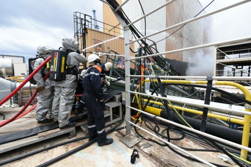 Во Франции произошел пожар на атомной подлодке