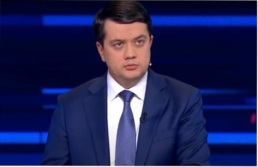 Дмитрий Разумков, Леонид Кравчук, ТКГ по Донбассу, Всенародный референдум