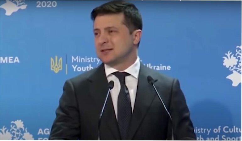 Владимир Зеленский, Олег Саакян, Виктор Небоженко, Константин Матвиенко