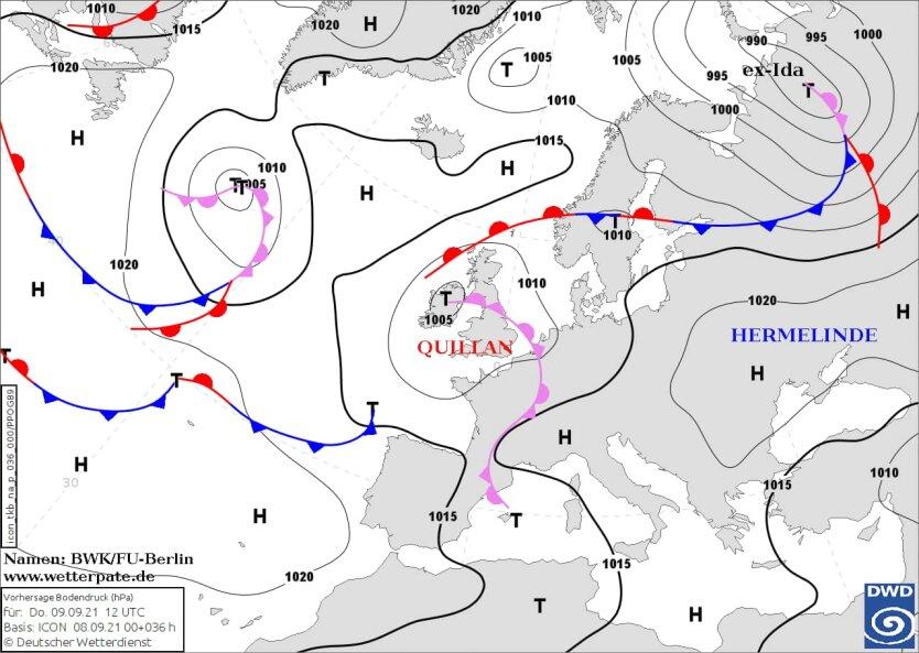 Антициклон Hermelinde: в Украине до конца недели будет сухо и тепло