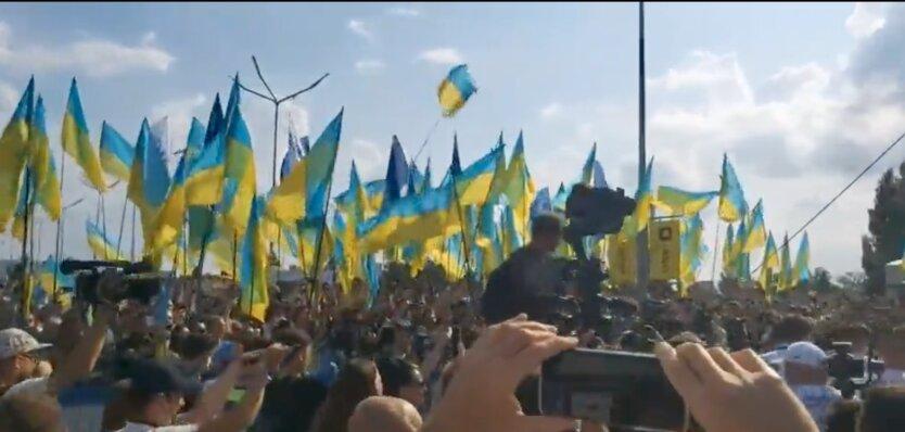 Сборную Украины торжественно встретили в Борисполе: видео