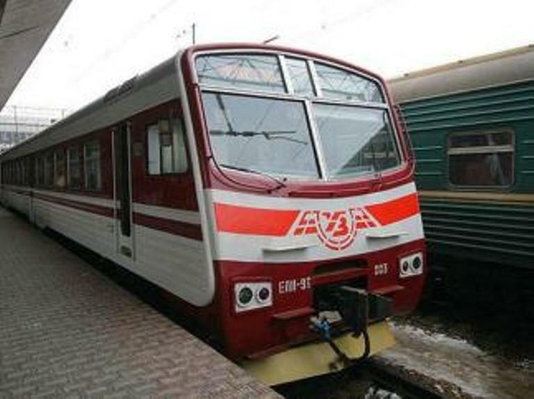городская электричка_Киев