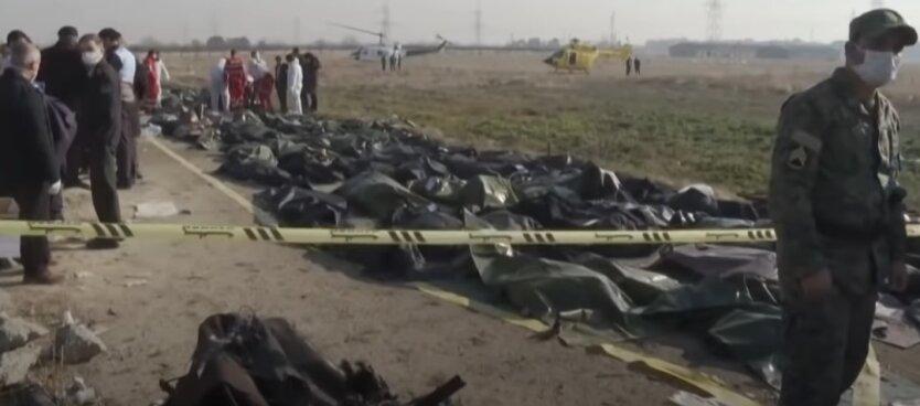 Катастрофа Боинга МАУ, Иран, Украина