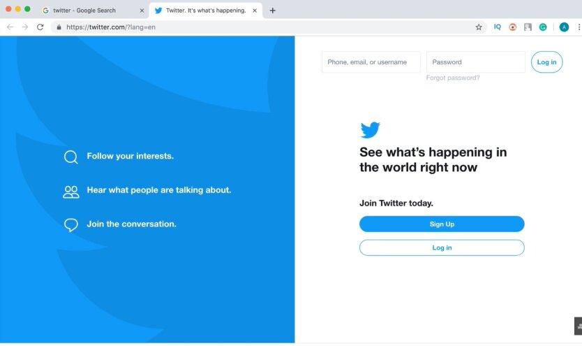 Твиттер, верификация, российские аккаунты