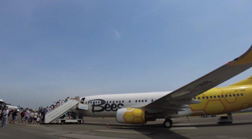 Bees airlines, Киев, Одесса