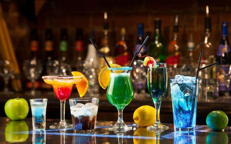 бар, алкоголь, вечеринка, коктейль