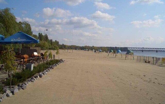пляж киев