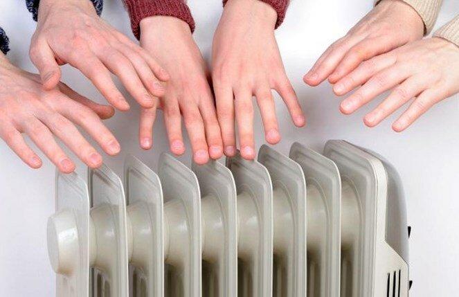 отопление батареи тепло зима холод