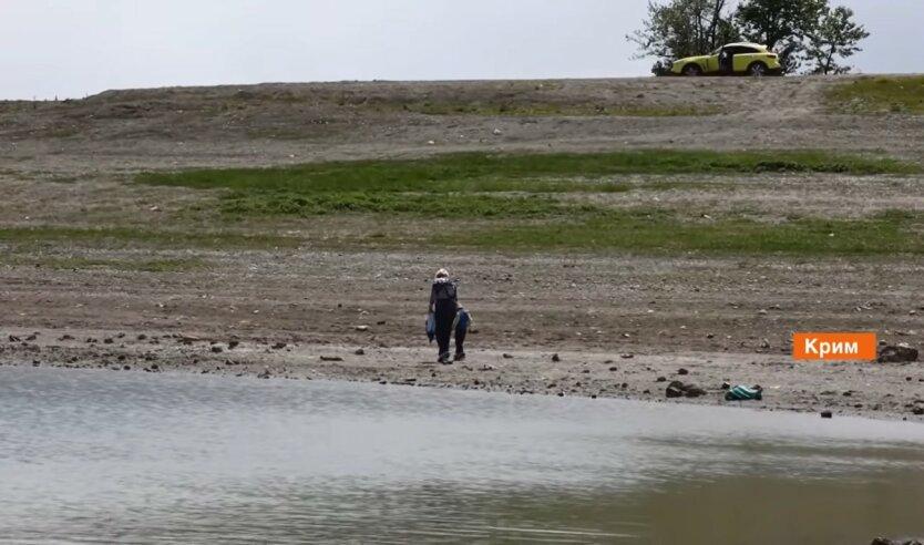 Крым, засуха в Крыму, эскалация