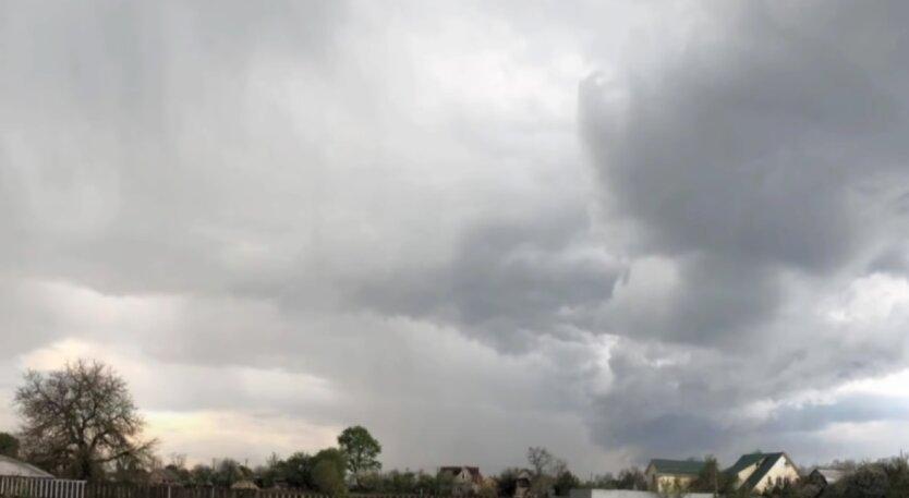 Погода, Украина, грозы, град