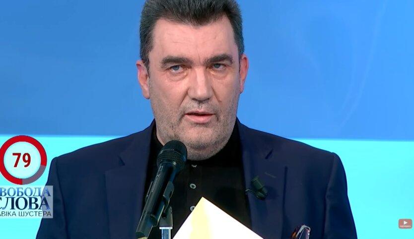 Алексей Данилов, украинский язык, английский язык
